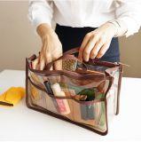 Sacs à main durables de sac de soins de la peau de renivellement de PVC d'espace libre d'OEM