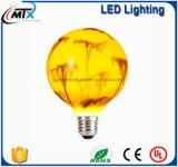 Neue moderne künstliche angestrichene Lampe der Buntglas-Lampen-E27 LED