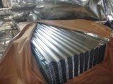 Folha de aço ondulada da telhadura do Galvalume da folha do revestimento de Aluzinc para HOME Prefab