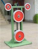 Mehrfacher Rad-Flachkabel-Druckspeicher für Draht-Strangpresßling