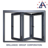 Double vitrage comme fabrication standard Aluminium Bi Fold Screen Door