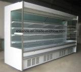 Refrigerador vertical de Multideck para la venta al por menor y la visualización