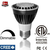 15deg/24deg/38deg Dimmable 6.5W 120V/220V PAR20 LED Scheinwerfer für Einkaufszentrum