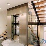 Levage résidentiel de passager de petit ascenseur à la maison électrique en verre
