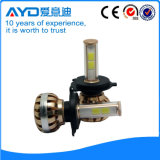 Farol do carro do diodo emissor de luz do feixe H4 do feixe elevado baixo para a venda