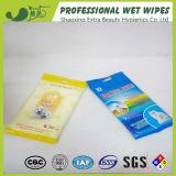 trapos desinfectantes de la limpieza del animal doméstico 20PCS para los perros y los gatos