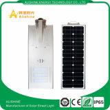 luz de calle solar integrada 100W toda en una luz de calle solar con precio de fábrica