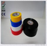 Ruban adhésif de PVC de ventes chaudes avec le faisceau en plastique (0.13mm*19mm*10m)