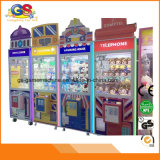 Distributeurs automatiques de jeux électroniques de griffe bon marché à jetons de grue à vendre