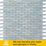 Mosaico horizontal del vidrio cristalino de la mezcla del color ligero