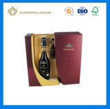 Caja de cartón durable de Kraft para las tazas y el envase del agua (con crear para requisitos particulares)
