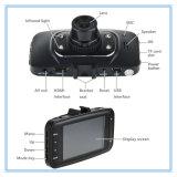가득 차있는 HD 소형 이중 카메라 렌즈 WiFi 야간 시계 차 DVR