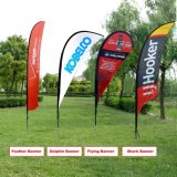 Custom Good Quality Outdoor Seabeach Flying Flag Bannière Impression