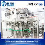 El PLC controla la máquina de rellenar del refresco carbónico automático