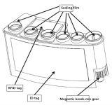 Essai cardiaque de borne du réactif HS-Ctni (analyse de chimiluminescence)