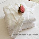 Peignoir d'hôtel de textile d'hôtel de pile de coupure de coton