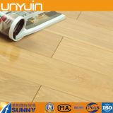 Plancher UV de vinyle de PVC d'enduit de prix usine pour l'usage résidentiel