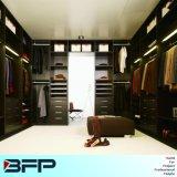 Wardrobe de madeira do quarto do armário de pano da melamina