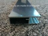 Perfiles de aluminio anodizados pulidos de la protuberancia de la aleación 6463