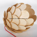 DIY Creative Wooden Camellia Gift Artcrafts Ceiling Light