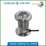 Lo stagno subacqueo dell'indicatore luminoso LED del LED illumina la lampada subacquea del LED
