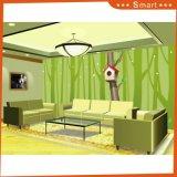 木の子供デザイン油絵の小さい家