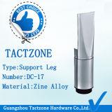 Supporti registrabili in lega di zinco della toletta del cubicolo degli accessori durevoli del divisorio