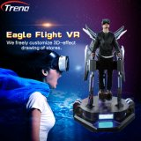 Cine derecho virtual de Vr del vuelo del simulador 9d de la realidad 9d de la venta caliente para los niños