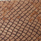 Couro quente do plutônio da grão da serpente da venda 2017 para as bolsas (K337)