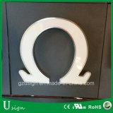 Signage léger acrylique de signe de lettre du système DEL