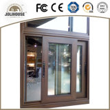 Fenêtre coulissante en aluminium personnalisée en usine de haute qualité