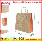 Saco de portador de papel relativo à promoção do saco, da sapata & do vestuário do presente