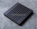 Suelo de bambú al aire libre tejido hilo carbonizado/suelo de bambú del Decking