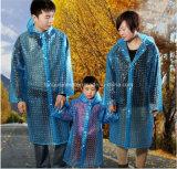 다른 색깔에 있는 3D 부모 아이 우천용 의류