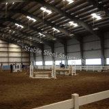 Arena de la estructura de acero para el montar a caballo