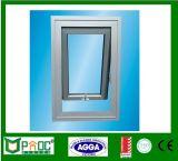 Finestra appesa superiore di profilo di alluminio con Pnoc di vetro standard australiano