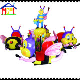 Helicóptero feliz do ovo de Dino para a terra de jogo das crianças interna