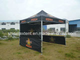 فرقعت فوق خيمة يطوي خيمة يتاجر عرض خيمة خيمة [فولدبل]
