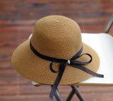 Kakifarbige Frauen-Hut-Strohhüte