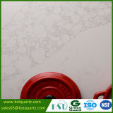 Сляб камня кварца Calacatta белый Veined для верхней части таблицы