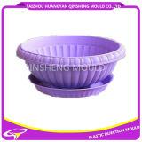 Molde plástico do Flowerpot do Rattan