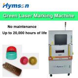 De Groene Laser die van de Machine van de vezel voor de Farmaceutische Oppervlakte van de Flessen van de Verpakking het Merken merken