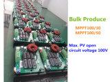 Hotsale Fangpusun blauer Solaraufladeeinheits-Controller MPPT 50A mit Monitor für 12V 24V LiFePO4 Batterie-Gel AGM