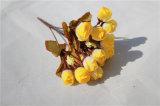 Оптовые дешевые Silk малюсенькие цветки Rose искусственние для украшения дома/венчания