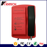 頑丈なKntechからの耐候性がある電話自動ダイヤル電話Knsp-18t