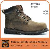 Pattini di sicurezza d'acciaio della protezione di alta qualità e fabbrica termoresistente del caricamento del sistema di sicurezza (SC-8870)