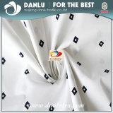 Elastisches Popelin-Gewebe mit dem kleinen Diamanten gedruckt für Hemd