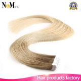 Лента в человеческих волосах Remy выдвижения волос ленты PU волос кожи выдвижения волос Weft