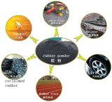 Linha de produção de borracha semiautomática do pó