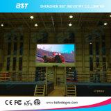 Изготовленный на заказ экран дисплея алюминия P5 HD черный СИД крытый рекламируя СИД для автоматической выставки